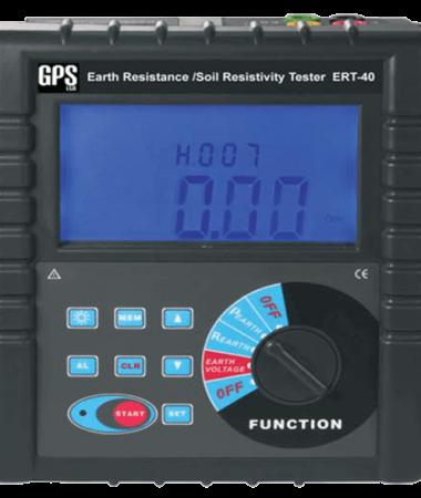 ارت سنج چهارسیمه GPS-ERT-40