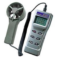 فلومتر باد/دما/رطوبت واقعی/حجم هوا/نقطه شبنم/دمای تر AZ-8911