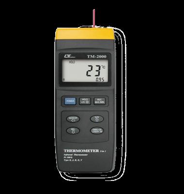 ترمومتر دو کاره لیزری و تماسی lutron TM-2000