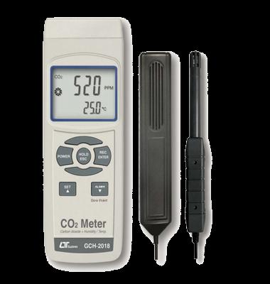 CO2/دما/رطوبت/نقطه شبنم LUTRON GCH-2018