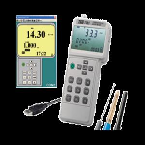 اندازه گیری PH , EC , ORP مدل TES-1381