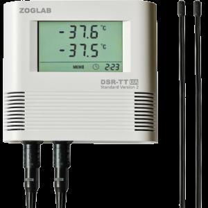 دیتا لاگر دماهای دو کاناله ZOGLAB-DSR-TT