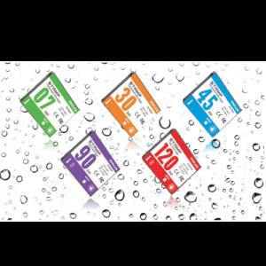 دیتا لاگر برچسبی دما و رطوبت ضد آب (یک بار مصرف)ZOGLAB- STAMP